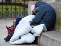 A report looking at the Scottish Government's progress addressing homelessness has been released (Nick Ansell/PA)