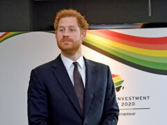 The Duke of Sussex has said an area known as a 'natural beating heart' of southern Africa must be protected with a moratorium on oil and gas drilling (Stefan Rousseau/PA)