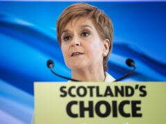 First Minister Nicola Sturgeon argues that the independence movement had time on its side (Jane Barlow/PA)