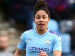 Manchester City's Demi Stokes says it is important players keep taking the knee (Nigel French/PA).