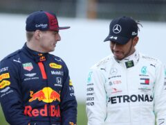 Lewis Hamilton and Max Verstappen are locked in a title race (David Davies/PA)