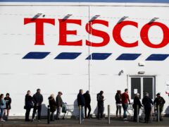 Tesco has hailed strong sales over the past half year (Nick Potts/PA)