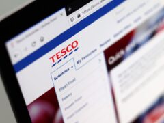 Tesco said an outage on its website and app is due to an attempt to 'interfere' with its systems but there is 'no reason' to believe customer data has been affected (Tim Goode/PA)