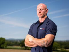 Gareth Thomas, pictured, has hailed friend Shane Williams for his staunch support as the former Wales star continues to raise awareness of living with HIV (James Robinson/Beat Media)