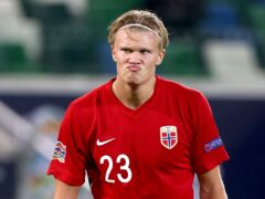 Norway's Erling Haaland could be moving to Manchester (Liam McBurney/PA)