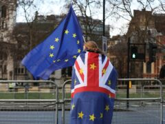 The impact of Brexit on the UK economy will be worse than that caused by the pandemic, according to the chairman of the UK fiscal watchdog (Luciana Guerra/PA)