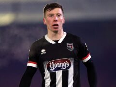 Harry Clifton netted for Grimsby (Mike Egerton/PA)