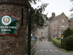 The Scottish Child Abuse Inquiry heard that a boy was beaten with a cricket bat at the Queen Victoria School in Dunblane (PA)