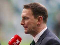 Ian Baraclough is eager to move on from Saturday's controversial defeat to Switzerland (Brian Lawless/PA)