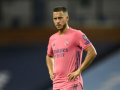 Eden Hazard has struggled at Real Madrid (Peter Powell/PA)