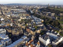 Edinburgh has a particularly high number of technology businesses (Jane Barlow/PA)
