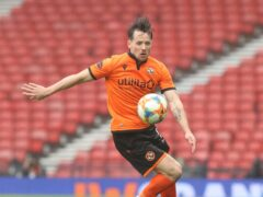 Dundee United's Marc McNulty will be out until just before the new year following surgery (Jeff Holmes/PA)