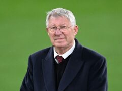 Sir Alex Ferguson was recognised for his Scotland appearances (Rafal Oleksiewicz/PA)