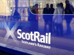 """Transport minister in Scotland Graeme Dey said """"signs are not optimistic"""" in preventing railway strikes during Cop26 (Jane Barlow/PA)"""