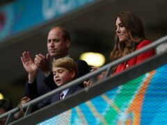 The Duke and Duchess of Cambridge with son Prince George (Mike Egerton/PA)