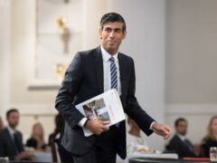 Chancellor Rishi Sunak will hail a 'new age of optimism' in his Budget speech (Stefan Rousseau/PA)