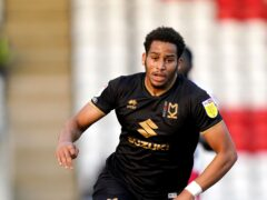 Sam Nombe scored for Exeter as they drew again (John Walton/PA)