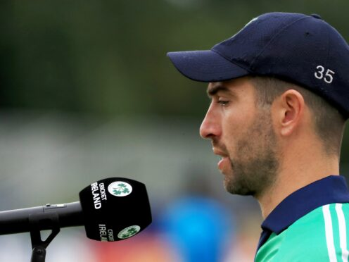 Andrew Balbirnie has called on Ireland to make a fast start (Donall Farmer/PA)