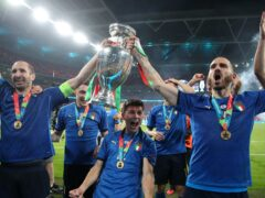 Italy are hoping to follow up their Euro 2020 triumph with Nations League success (Nick Potts/PA)