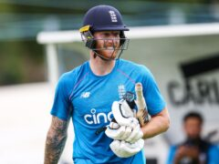 Ben Stokes returned to nets after a second finger surgery (Barrington Coombs/PA)