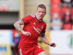 Jonny Hayes insists Aberdeen do not need to make major changes (Steve Welsh/PA)