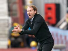 Hearts manager Robbie Neilson was pleased with the Ibrox comeback (Jane Barlow/PA)