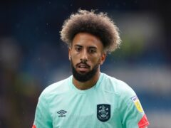 Huddersfield's Sorba Thomas is in the Wales squad just nine months after playing in non-league football (Zac Goodwin/PA)