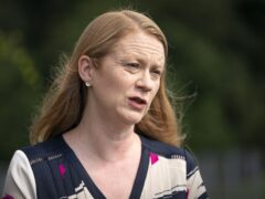 Shirley-Anne Somerville told MSPs that 'substandard' practice at the SQA was being put right (Jane Barlow/PA)