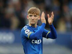 Anthony Gordon has impressed Everton boss Rafael Benitez (Bradley Collyer/PA)