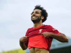 Mohamed Salah is set for new contract talks with Liverpool (Joe Giddens/PA)