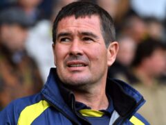 Nigel Clough saw his Mansfield side lose 2-0 at Northampton (Anthony Devlin/PA)