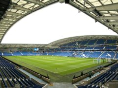 Brighton confirmed a player was involved in the police investigation (Kieran Cleeves/PA)