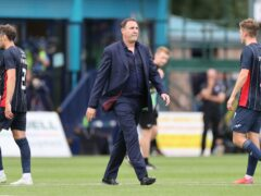 Ross County manager Malky Mackay is not panicking (Steve Welsh/PA)