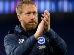 Graham Potter's Brighton have suffered just one Premier League defeat this term (David Davies/PA)