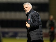 St Mirren manager Jim Goodwin hailed his players (Andrew Milligan/PA)