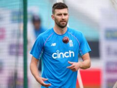 Mark Wood, pictured, hopes he and Tymal Mills can push each other at the Twenty20 World Cup (Adam Davy/PA)