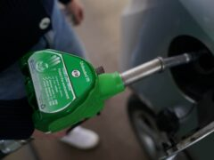 Ministers have been urged to consider cutting VAT on fuel as petrol prices hit a nine-year high (Joe Giddens/PA)