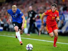 Wales meet Estonia in Tallinn on Monday hoping to keep World Cup qualifying hopes alive (Nick Potts/PA)