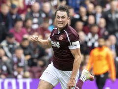 John Souttar could be back for Hearts (Jeff Holmes/PA)