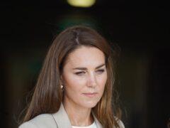 The Duchess of Cambridge (Steve Parsons/PA)