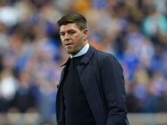 Steven Gerrard has injury concerns ahead of the visit of Hibernian (PA)