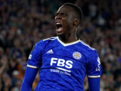 Leicester's Patson Daka knows the important of Sunday's trip to Palace. (Mike Egerton/PA)