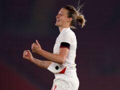 Ellen White (pictured), with 43 goals, is three behind England Women's record goalscorer Kelly Smith (John Walton/PA)
