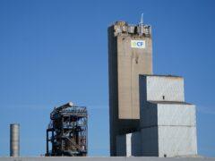 CF Fertilisers' plant in Billingham, Cleveland (Owen Humphreys/PA)