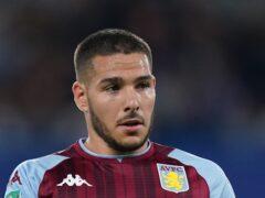 Aston Villa's Emiliano Buendia has not started their last four Premier League games (Mike Egerton/PA)