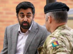Health Secretary Humza Yousaf has asked for more military support for two Scottish health boards (Andrew Milligan/PA)