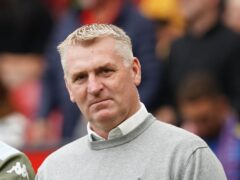Dean Smith criticised Aston Villa's game management (Martin Rickett/PA)