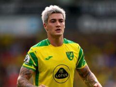 Norwich midfielder Mathias Normann has been managing a minor abdominal issue (Joe Giddens/PA)