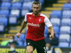 Rotherham defender Joe Mattock could return against Portsmouth on Saturday (Steve Parsons/PA)