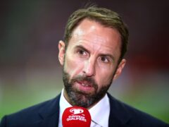 Gareth Southgate's England take on Hungary (Rafal Oleksiewicz/PA)
